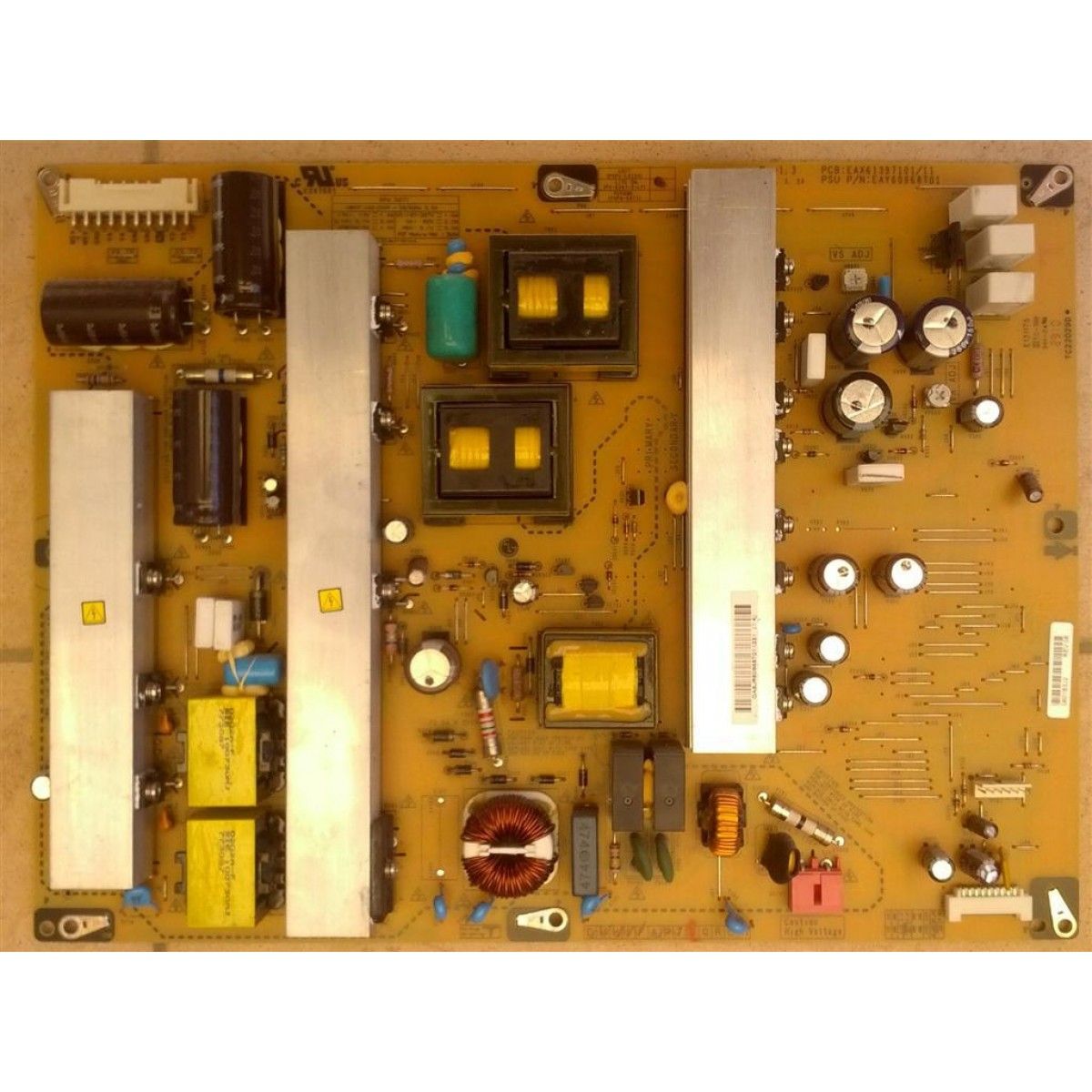 Lg 50pj350 Power Board Eay60968701 Eax61397101