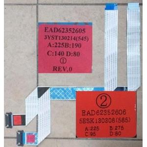 LG 55LA7400 FFC CABLES EAD62352605 EAD62352606