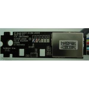 LG 50PZ570 LOGIC RF MODULE EBR72499601