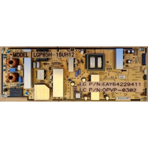 LG 65UH950T POWER BOARD EAY64229411 OPVP-0302 LGP65H-16UH12