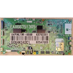 LG 65UH950T MAIN BOARD EBU63815201 63762201 82547003 EAX66751305