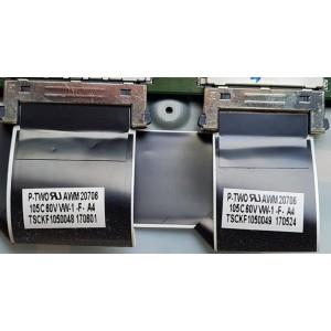 PANASONIC TH65EX780A FFC CABLE TSKF1050048 TSKF1050049