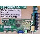 SONIQ E32W13D MAIN BOARD ST6306PUM-T1A 222-632046004-30