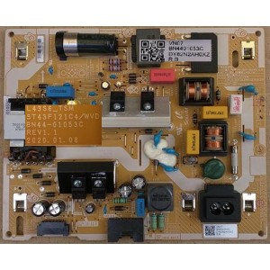 SAMSUNG UA43TU8000 POWER BOARD BN44-01053C L43S6_TSM ST43F121C4/WVD