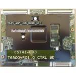 SAMSUNG UA65JU7500 T-CON BOARD BN96-34942A T650QVR01.0 65T41-C03 5565T41C01
