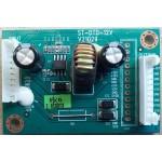 TELEFUNKEN TEL4207 REGULATOR BOARD ST-DTD-12V V21029